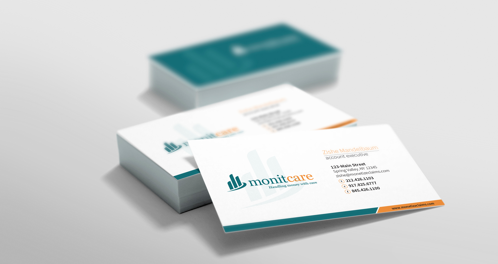 Monitcare Business Card